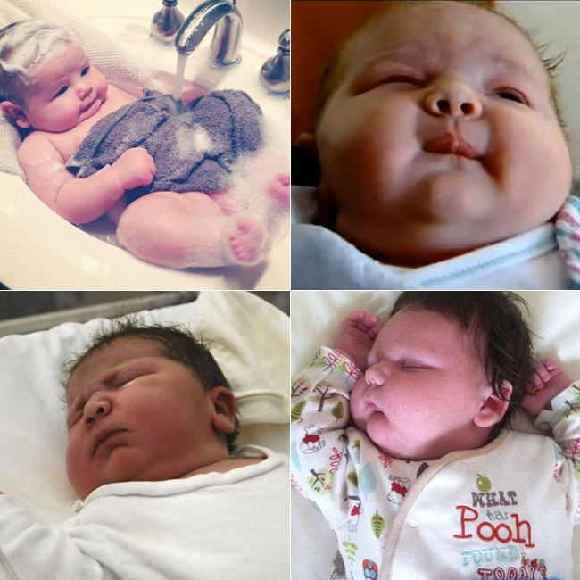 """Rất nhiều bé sơ sinh vừa chào đời đã có cân nặng gấp đôi so với chuẩn của Tổ chức y tế thế giới. Những em bé này chủ yếu được sinh ra bằng phương pháp đẻ mổ và được chăm sóc đặc biệt do dễ mắc các vấn đề về sức khỏe như bệnh tiểu đường, hô hấp…  Sau đây là top những bé sơ sinh chào đời nặng nhất thế giới trong năm 2013.  BÀI LIÊN QUAN:  """"Yêu"""" sau sinh, cẩn thận hậu sản  Quá đẹp thước ảnh sinh con dưới nước  Sang Trung Quốc xem các mẹ đi đẻ  """"Soi tận mắt' quá trình thụ thai  """"Chết cười"""" ngắm thai nhi tạo dáng  Ngắm thai nhi lớn lên trong bụng mẹ (P.2)  Thai nhi nam có thể """"cương cứng"""""""