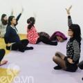Học cách thở, rặn đẻ tại lớp tiền sản