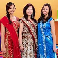 Vẻ đẹp lai Ấn của con gái HH Diệu Hoa