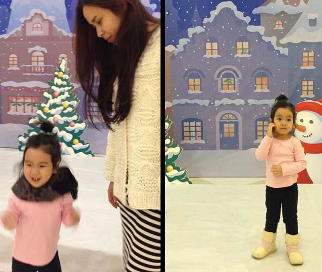Lưu Hương Giang cho biết, từ khi có em bé cô thấy mình thay đổi nhiều. Làm gì cũng đều suy nghĩ và hướng đến con. Công việc của hai vợ chồng rất bận rộn nhưng Mina luôn được bố mẹ chăm sóc và dạy dỗ cẩn thận.
