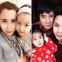 Con gái Lưu Hương Giang trắng như trứng gà bóc