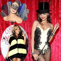 Học lỏm phong cách hóa trang đêm Halloween của các sao