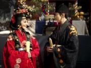Làng sao - Cận cảnh đám cưới truyền thống của Chae Rim tại Hàn