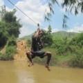 Tin tức - Dân đu dây qua sông tử vong: Bộ trưởng Thăng sốt ruột