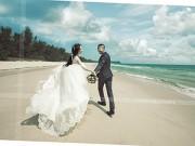 Hậu trường - Lộ ảnh cưới đầu tiên của Quỳnh Nga - Doãn Tuấn