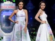 Thời trang - Thả dáng cuối thu với váy đầm hoạ tiết vẽ tay