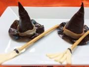 Bếp Eva - Làm mũ phù thủy cho bữa ăn ngày Halloween
