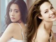 """Làng sao - Biểu tượng gợi cảm Hàn """"đánh bại"""" Angelina Jolie"""