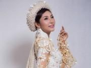 """Người mẫu - Áo dài 5 tỷ của Đặng Thu Thảo gây """"choáng"""""""