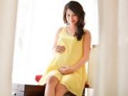Mang thai 1-3 tháng - Chị gái Hoàng My: Bầu song thai, da trắng hồng hơn