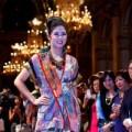 Người mẫu - Hoa hậu Ngọc Hân nổi bật tại Tòa Thị chính Paris