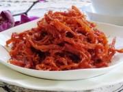 Thực đơn – Công thức - Nhâm nhi mực khô tẩm tương ớt cay cay mùa lạnh