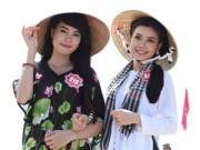 Thời trang - HHVN 2014: Thí sinh Nam bộ duyên dáng trong áo bà ba