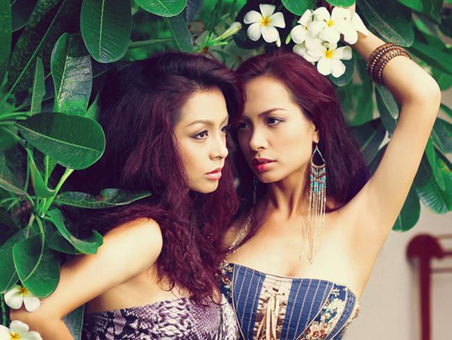 Thúy Hằng - Thúy Hạnh là cặp chị em song sinh nổi tiếng nhất làng catwalk Việt Nam.