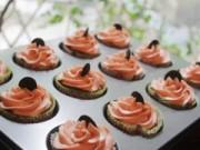 Bếp Eva - Thưởng thức chocolate cupcake - chút ngọt ngào đầu đông