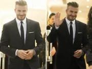 Ảnh đẹp Eva - Beckham cực điển trai đi dự sự kiện tại Hà Nội