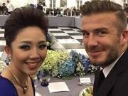 """Làng sao sony - Tóc Tiên khoe ảnh chụp cùng Beckham khiến fan """"sốt"""""""