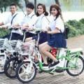 Tin tức thị trường - Xe đạp điện HKbike: Ba mẹ yên tâm, con mê tít