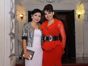 Hậu trường - Phương Thanh và dàn sao Việt chúc mừng Quỳnh Paris