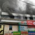 Tin trong nước - Cháy nhà hàng liền kề trường học, sơ tán HS khẩn cấp