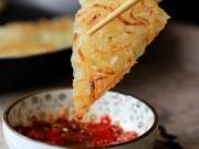 Thực đơn – Công thức - Làm bánh pancake khoai tây chỉ trong 15 phút