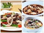 Thực đơn – Công thức - Bữa ăn hấp dẫn với gà xào, canh thịt bò viên