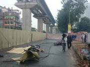 Pháp luật - Sau tai nạn, đường sắt Cát Linh-Hà Đông thi công trở lại