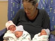 Sau sinh - Phép màu của mẹ sinh ba sau 12 năm vô sinh
