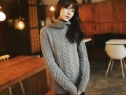 Thời trang - 3 cách dễ dàng sành điệu với áo len cao cổ