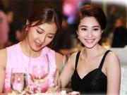 Hậu trường - Hoa hậu Thu Thảo đọ sắc cùng Ha Ji Won