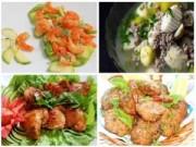 Món ngon - Bữa cơm cuối tuần giản dị mà ngon