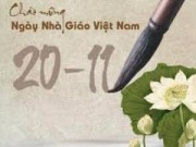 Giáo dục - Bộ GD-ĐT không tiếp khách, nhận hoa mừng Ngày Nhà giáo