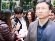 """Hậu trường - Hàng trăm fan Việt """"náo loạn"""" vì Ha Ji Won"""