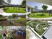 Không gian đẹp - Mẫu giáo siêu đẹp cho con em công nhân ở Đồng Nai