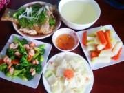 Thực đơn – Công thức - Bữa tối ngon mê với cá hấp xì dầu, su hào muối sổi