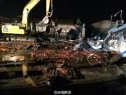 Tin quốc tế - TQ: Hỏa hoạn kinh hoàng ở nhà máy, 18 người chết cháy