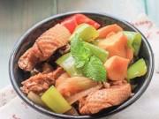 Thực đơn – Công thức - Vịt om ngon miệng bữa cơm chiều