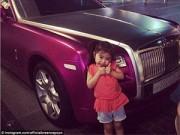 Dạy con - Nhờ fan, cô bé 5 tuổi sở hữu hàng chục túi LV và đi xe limo