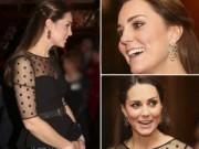 Làng sao - Công nương Kate: Bầu song thai vẫn đẹp hút hồn