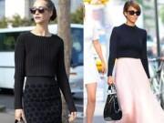 Xu hướng thời trang - Ứng xử khéo léo với chiếc áo len gợi cảm nhất