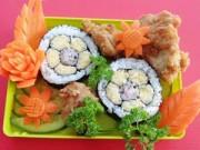 Bếp Eva - Cơm cuộn sushi vừa ngon lại đẹp