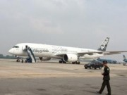 Tin trong nước - Máy bay A350 XWB-900 lần đầu tiên trình diễn ở VN