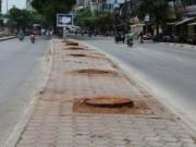 Tin trong nước - Lại chặt cây để làm đường sắt Nhổn – Ga Hà Nội