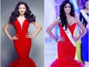 Thời trang Sao - Váy áo Nguyễn Thị Loan tại Miss World bị tố 'đạo ý tưởng'