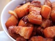Món ngon - Thơm lừng thịt ba chỉ kho quế