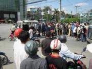 Pháp luật - Va chạm với xe ben, một phụ nữ đi xe máy tử vong