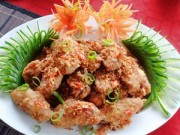 Bếp Eva - Thưởng thức cánh gà chiên tỏi ớt