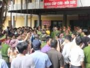 Tin trong nước - Ninh Bình: Mang thi thể sản phụ tới vây bệnh viện