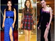 Thời trang - Đôi chân nuột nà của 4 mỹ nhân 7X đẹp nhất Việt Nam