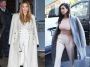 Thời trang Sao - Mặc đồ trắng mùa đông gợi cảm như mỹ nhân Hollywood